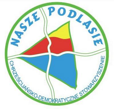 """Chrześcijańsko-Demokratyczne Stowarzyszenie """"Nasze Podlasie""""€ Logo"""