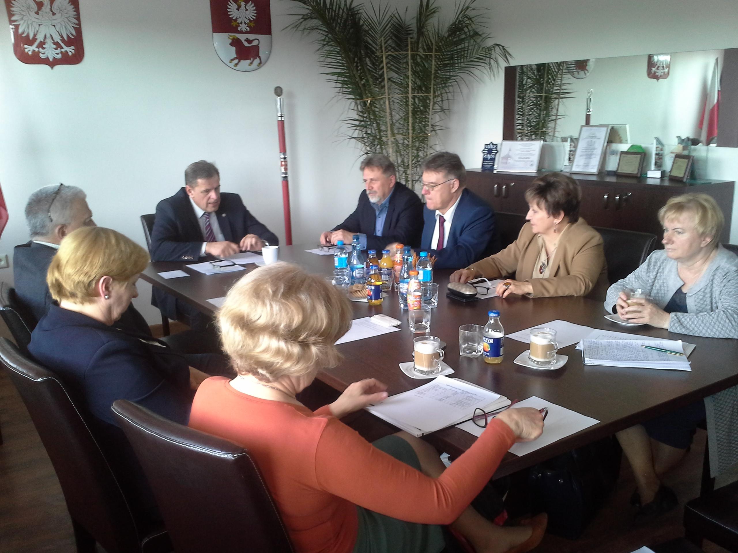Posiedzenie Zarządu Głównego CHDS Nasze Podlasie