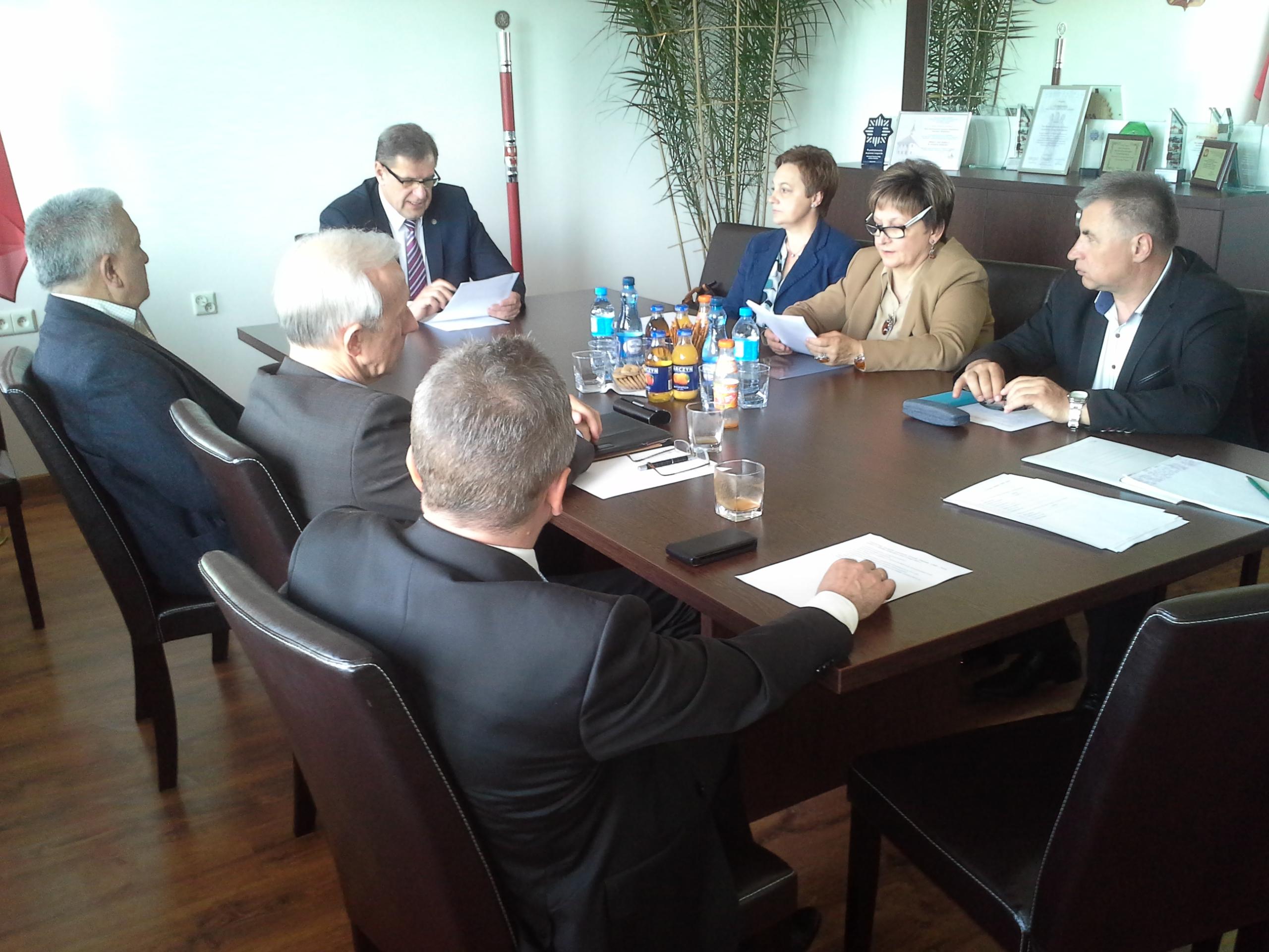 Posiedzenie Zarządu Oddziału Bielskiego CHDS Nasze Podlasie